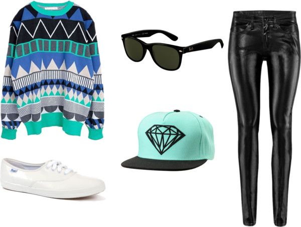 """Ray Ban Blues"" by dominicaworth on Polyvore"