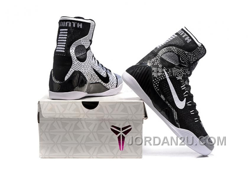 reputable site 89bb5 f0268 ... wholesale nike kobe 9 high woven black men shoes cheap to buy price air  jordan shoes