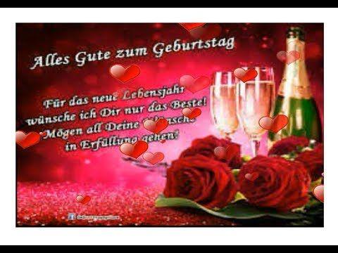 (319) Alles Gute und Liebe zum Geburtstag ! - Happy Birthday for You ! - YouTube