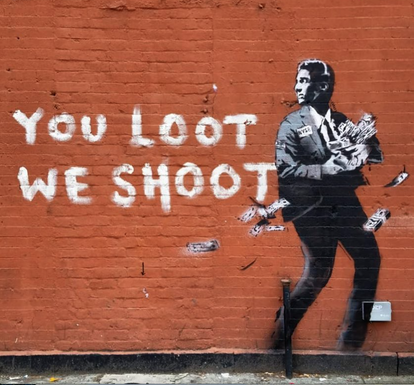 Banksy In Spanish Harlem Nyc 2018 Street Wall Art Street Art Street Artists