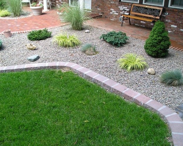 River rock landscaping ideas to choose from and for Rock garden bed ideas