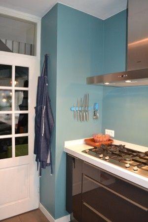 kleuradvies keuken / Marieke Ontwerpt. Kleur Agave (S4020-B30G) van ...