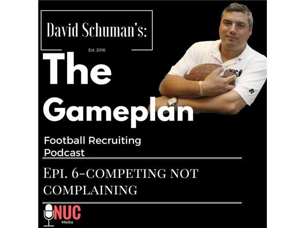 In this episode i discuss how football players and athletes should develop their competing skills not their complaining skills. it is key for athletes to develop the mental fortitude that will allow them to focus on what they can do to get better and not the negative things that may happen. It is imperative that athletes learn how to master the skill of focusing on their next important task on getting better instead of what they view as what people think about them. In football you cannot…