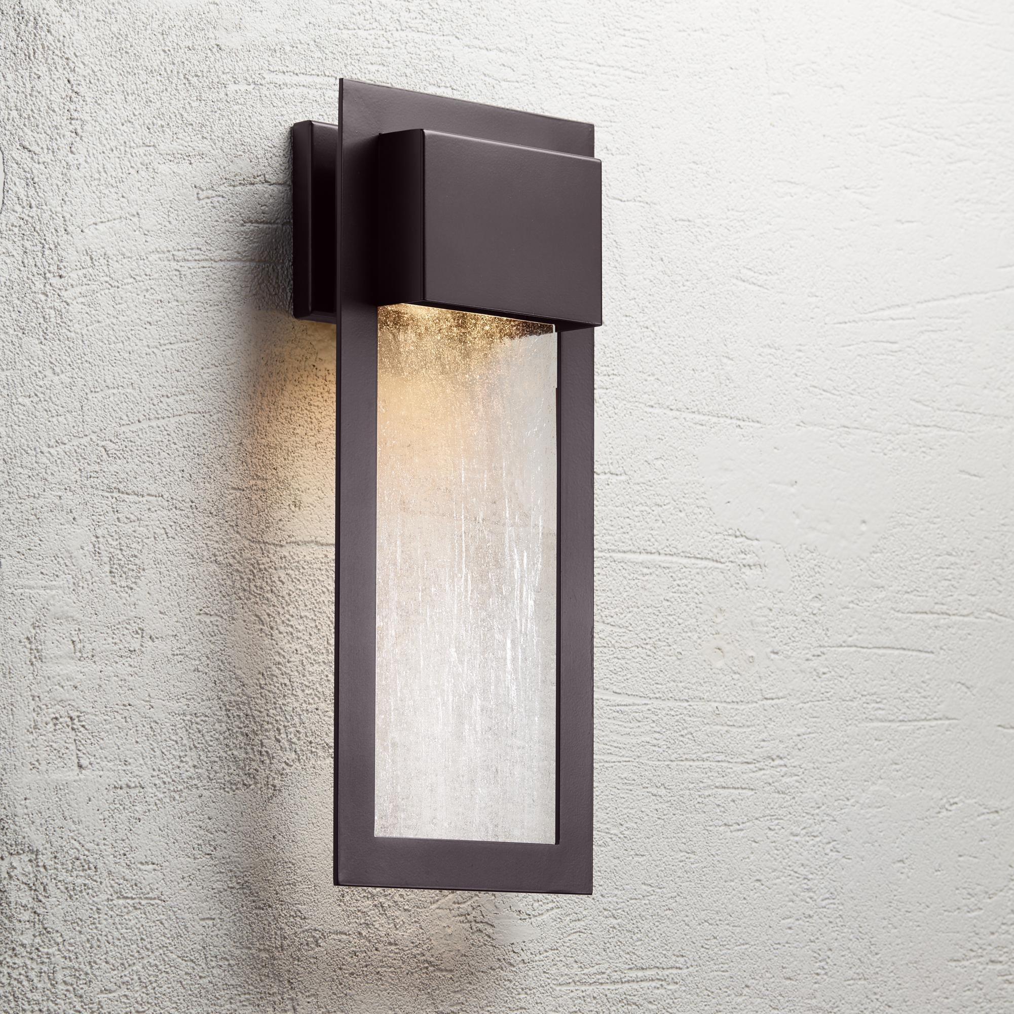 Outdoor Lighting Minka Westgate 20 High Bronze Outdoor Wall Light Outdoor Wall Light Fixtures Outdoor Wall Lighting Modern Exterior Lighting