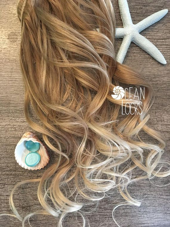 Human Hair Extensions Hair Extensions Clip In Ombre Hair Blonde