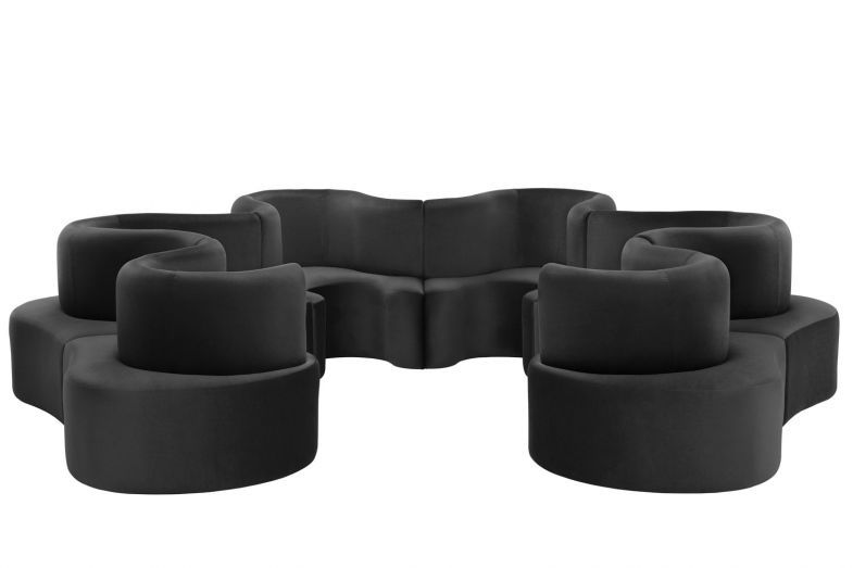 Cloverleaf Sofa - 6 Units by Verner Panton for Verpan Space - chaiselongue design moon lina moebel