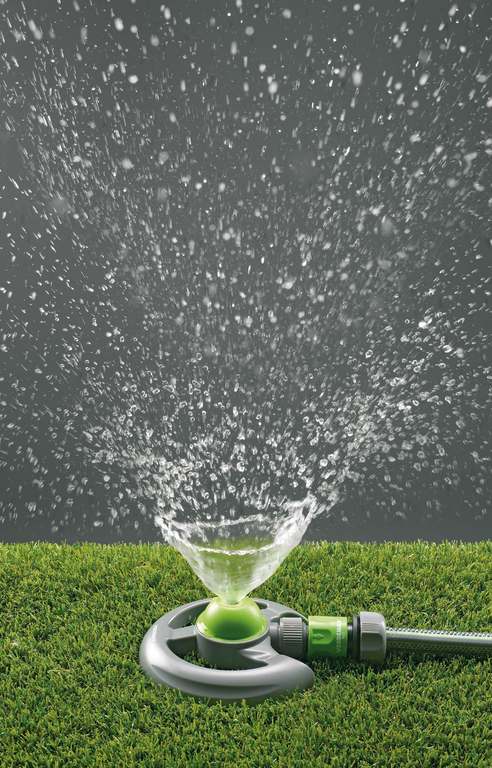 Regolabile oscillante Sprinkler su base IRRIGAZIONE GIARDINO PRATO TUBO DI RACCORDO