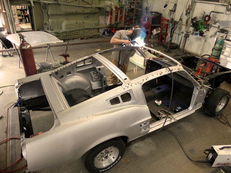 Fastback Conversions Mustang Fastback Mustang 1967 Mustang
