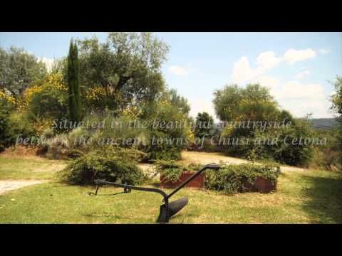 Restored farmhouse with pool for sale in Tuscany between Chiusi and Cetona cpge001762 - YouTube