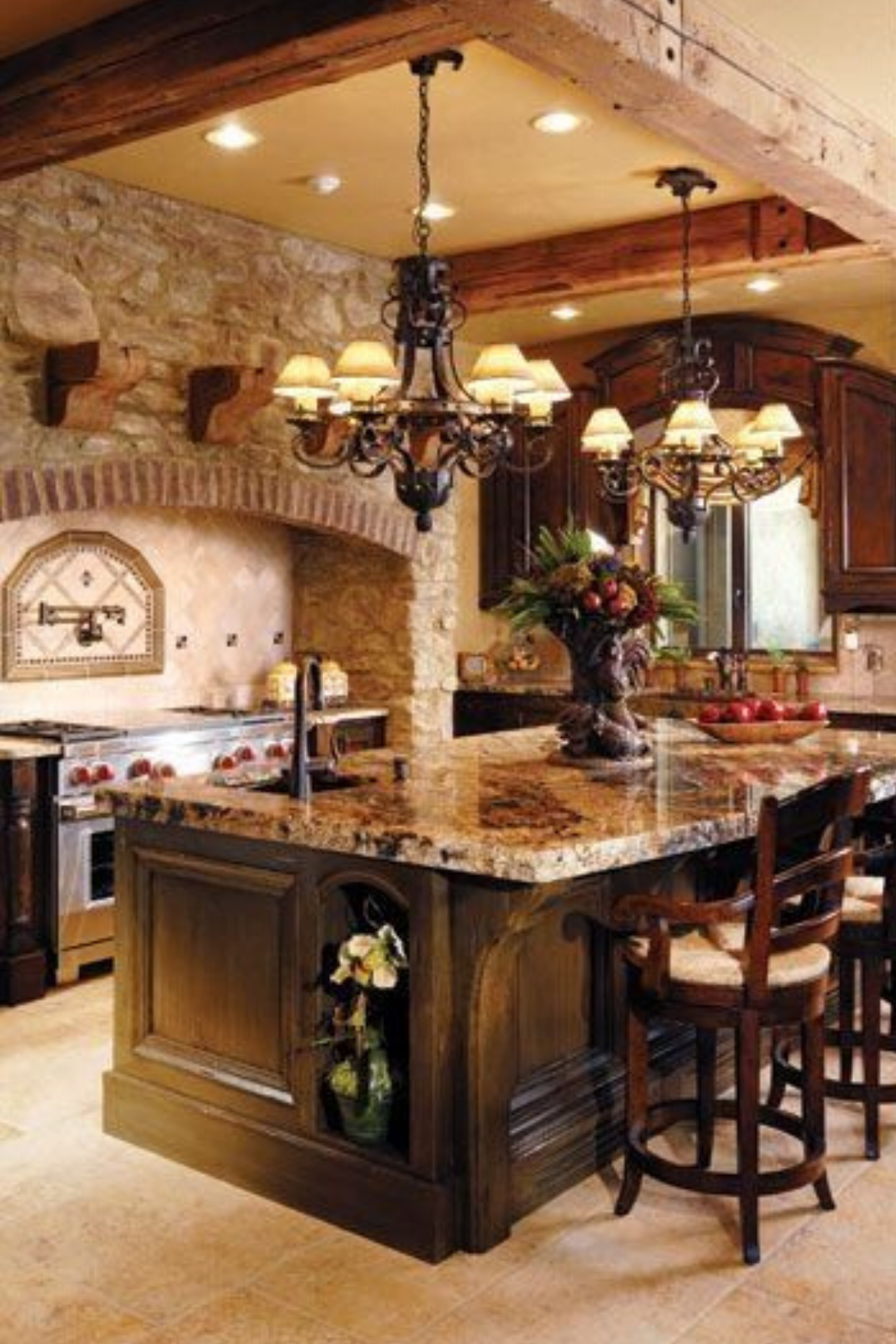 rustic kitchen ideas in 2020 tuscan kitchen design italian kitchen decor italian home decor on kitchen decor themes rustic id=14380