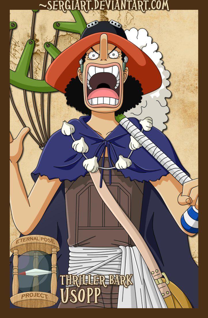 Epp Thriller Bark Usopp One Piece Anime Usopp One Piece