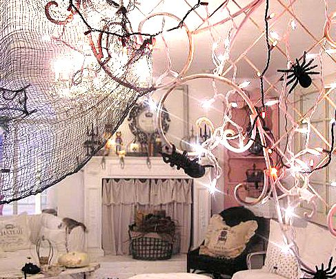 pink halloween decor One of the few holidays when our pink corner - halloween decor images