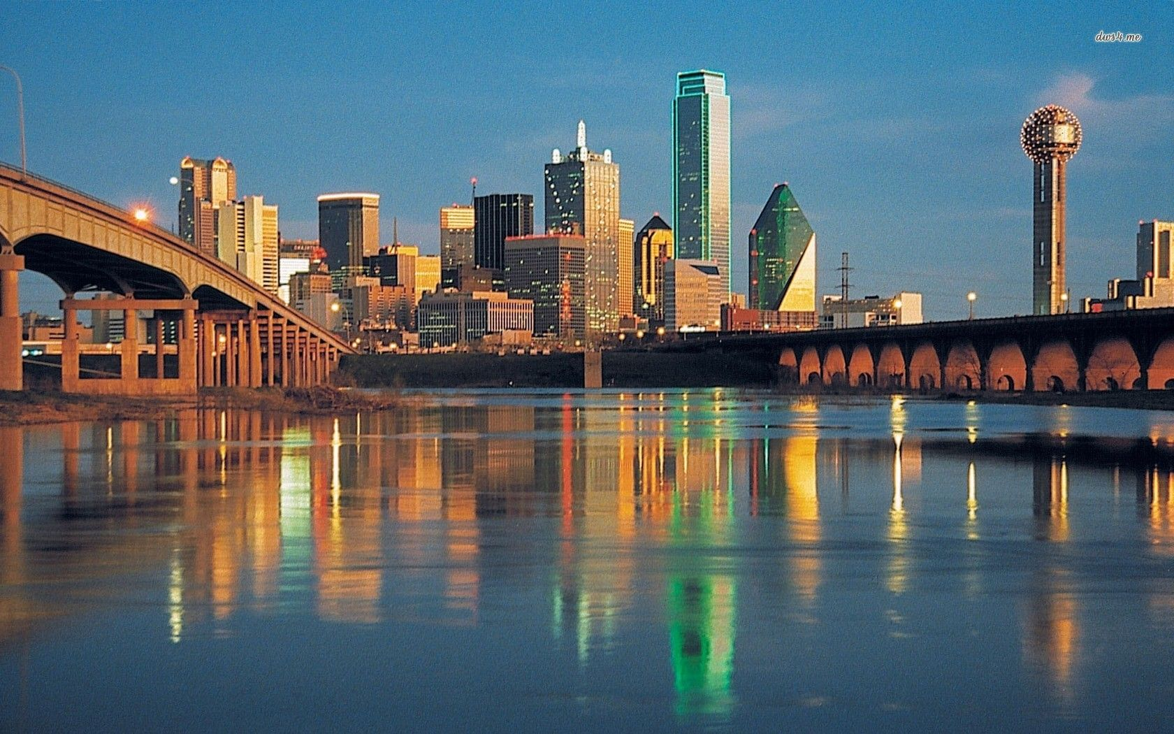 Dallas Skyline Wallpaper | Dallas skyline wallpaper ...