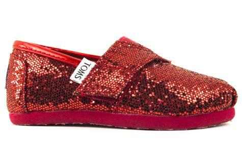 3d8ed03acf6 Red glitter Toms  teamks  kendrascott