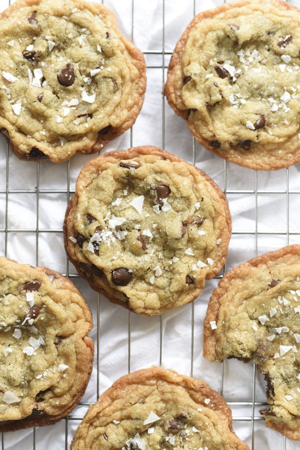 Milk Bar Salted Chocolate Chip Cookies foodiecrush.com 32