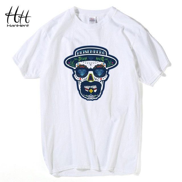 f555149683 Buy Hanhent Breaking Bad T Shirt Men Hermanos Cotton Short sleeve Tops Tees  Walter White Cook Swag Heisenberg Men's T-shirt Fashion at Hespirides Gifts  for ...