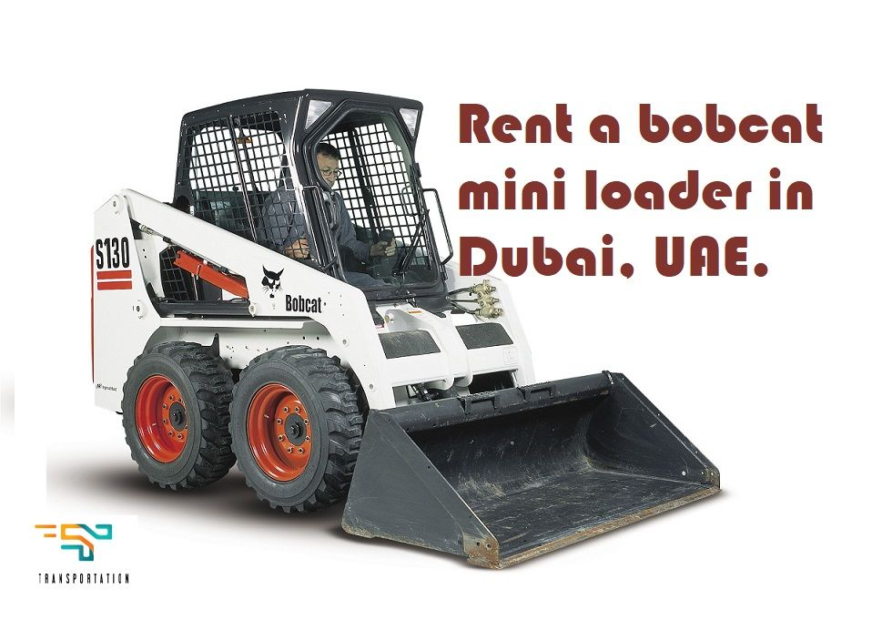 Rent A Mini Bobcat Machine Loader In Dubai Uae Bobcat Cat Brain Cats For Sale