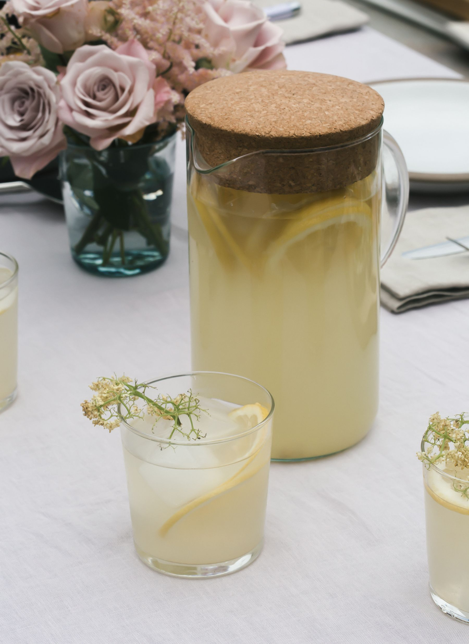 Elderflower lemonade recipe elderflower yummy drinks