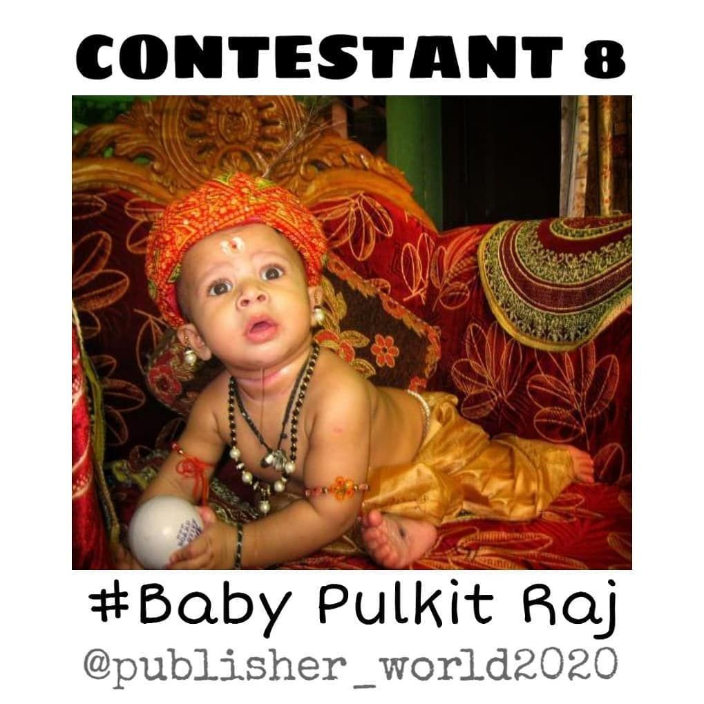 Baby Contest CONTESTANT No : 8 Name:Pulkit Raj Please Like and support Pulkit Raj to win this contest  Welcome momies and dadies, Here is a new online baby photo contest Entry fees:30/- Register and DM your baby photo. ________Tag your friends_______  Follow:@publisher_world2020  #kidsphotography #kids #photography #kidsfashion #kidsofinstagram #babyphotography #kidsmodel #kidsphotoshoot #kidsmodelling #fashionkids #babygirl #babyboy #contestalert #cutebaby #instakids #instafashionkids #cutekid