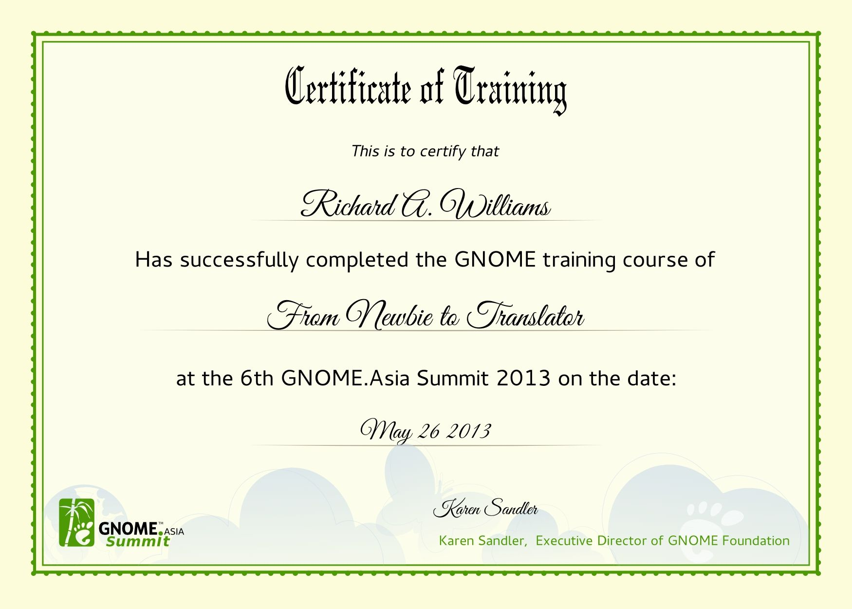 Training certificate sample information technology support cover training certificate sample sample training certificate template 25 documents in psd pdf 23 training certificate templates samples examples format 6 free yelopaper Images