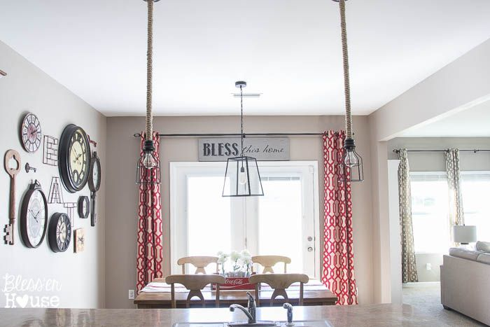 1 Rustic Industrial Breakfast Room 2 Ways - Bless'er House