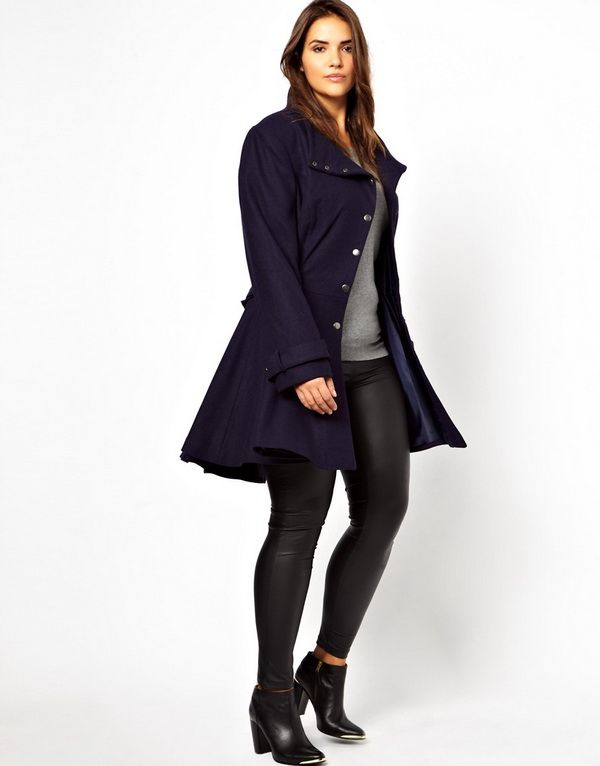 Fall Winter 2014 Coat Trends For Plus Sizes | fashionable-coats ...