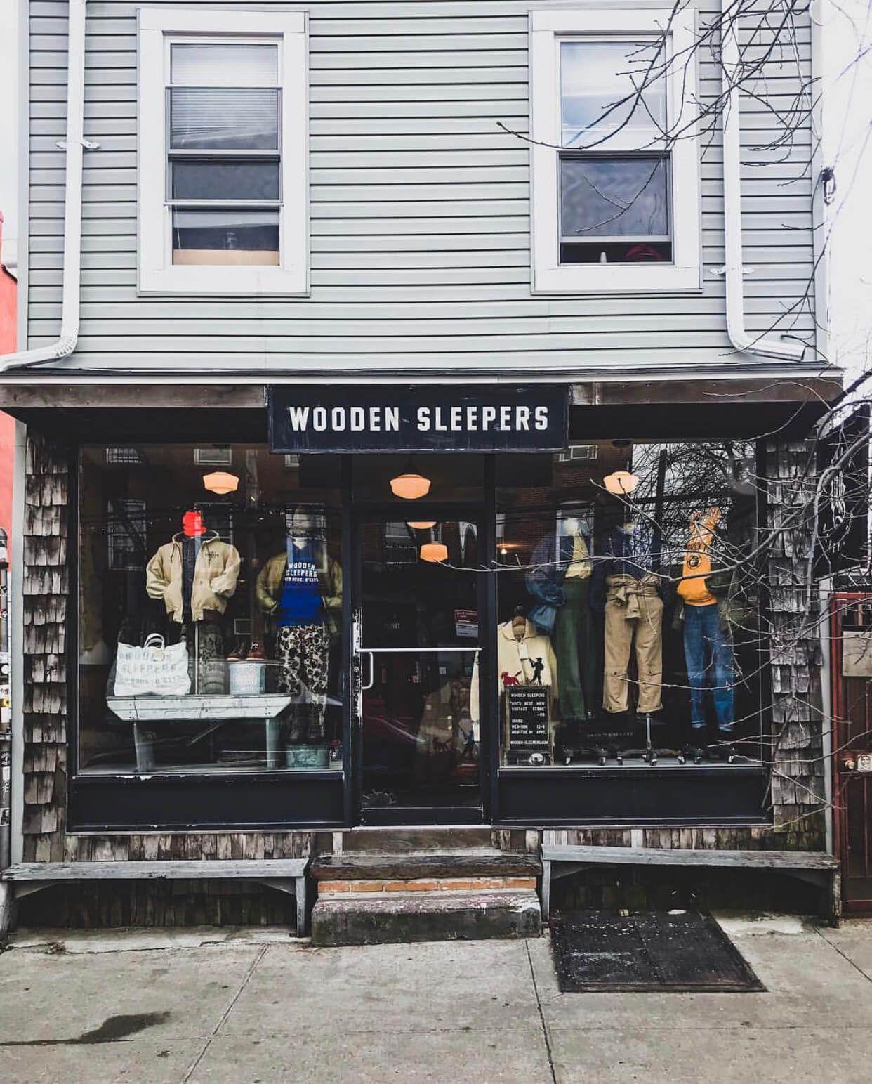 Wooden Sleepers Brooklyn In 2020 Wooden Sleeper Vintage Clothing Men American Vintage Clothing