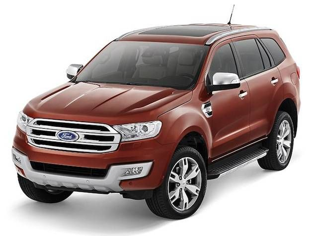 Ford Reveals The Next Generation 2015 Everest Ford Endeavour Ford Motor Ford Ranger