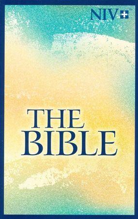 NIV Larger Print Bible Watercolor