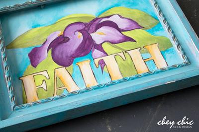 """Floral Art Cala Lily """"Faith"""" by Chey Loraine"""