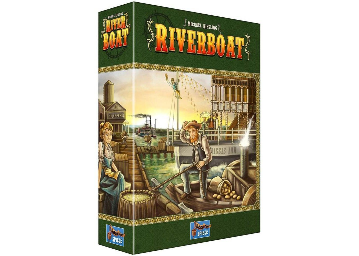 Lookout Riverboat Board Game Affiliate Riverboat Ad Lookout