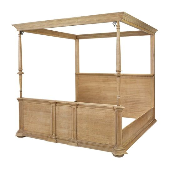 Best Lutyens Bed Traditional Midcentury Modern Wood Bed By 400 x 300