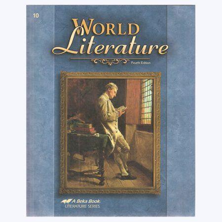 Abeka World Literature Set World Literature Literature A Beka