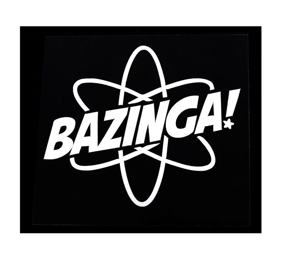 BAZINGA Funny Drift JDM Truck Car window Bumper BAZINGA
