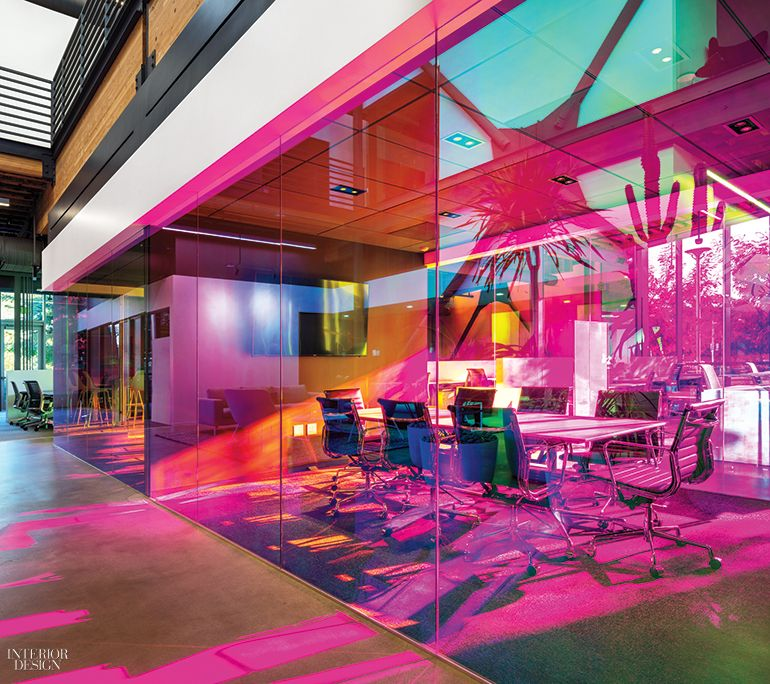 6 Cutting-Edge Media and Tech Headquarters Cuttings, Meeting rooms - innovatives interieur design microsoft