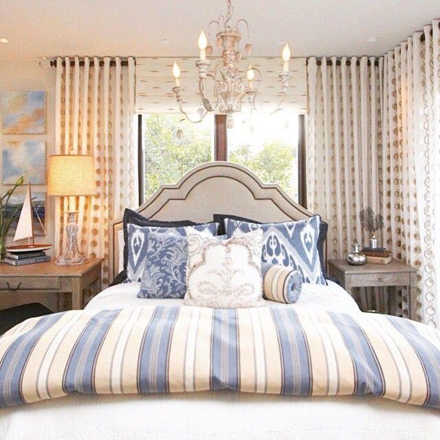 Hamptons Inspired Luxury Home Master Bedroom Robeson: La Apartment Decor, Guest Bedroom Decor