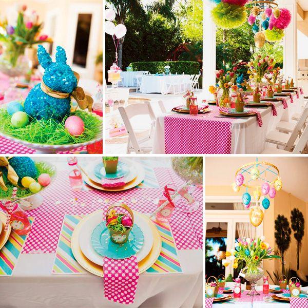 Decoraci n primaveral 1 cumplea os princesa huevos de for Decoracion pascua