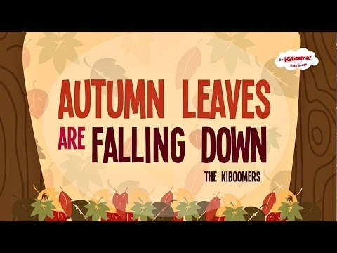 Autumn Leaves Are Falling Down | Fall Song | Preschool Songs | The Kiboomers - YouTube #autumnleavesfalling