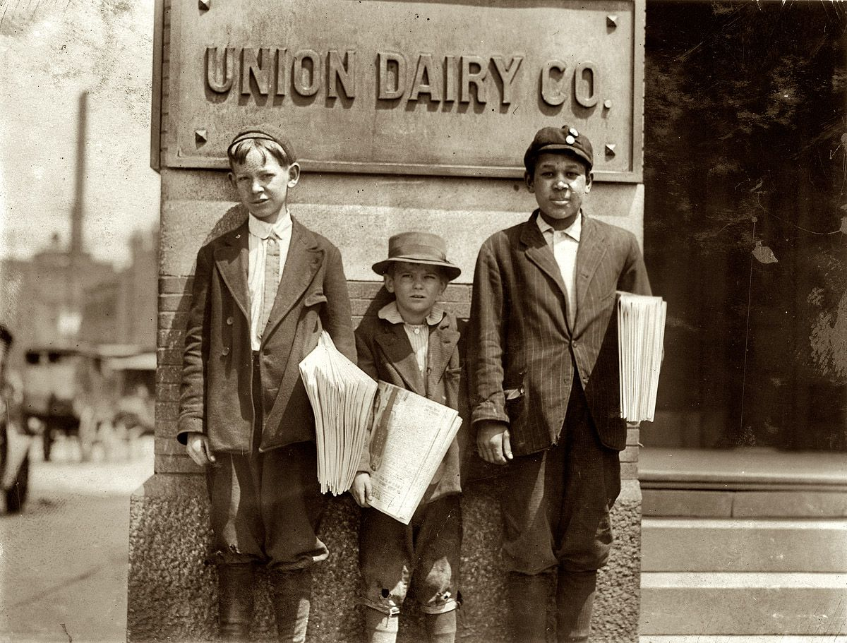 Lewis Hine. Marvin and Owen. 1910.