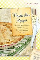 Handwritten Recipes  I would like to add this my collection someday.