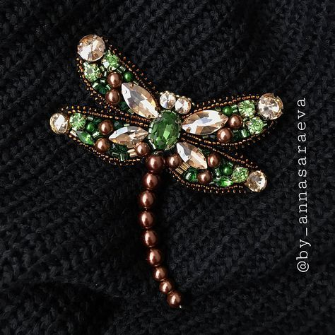 EVER FAITH/® Broche Animale Libellule Cristal Autrichien El/égant Mignonne