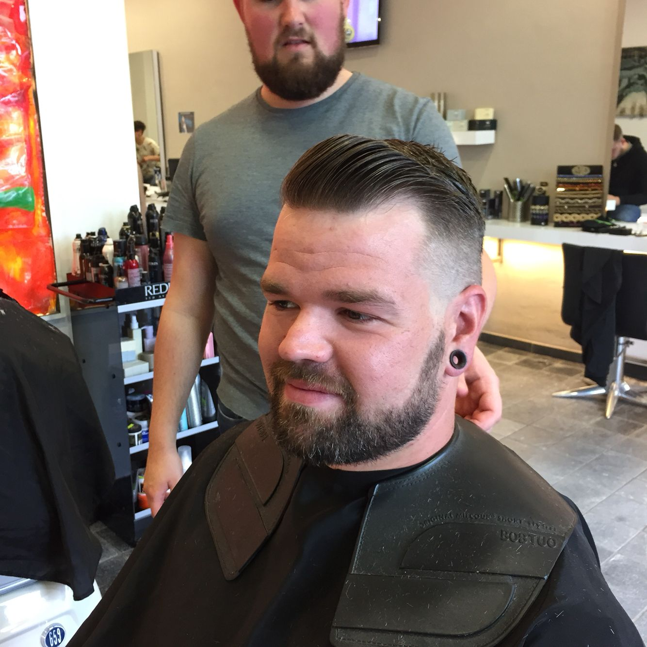 Pin by stephi souchkin on barber haircuts pinterest barber