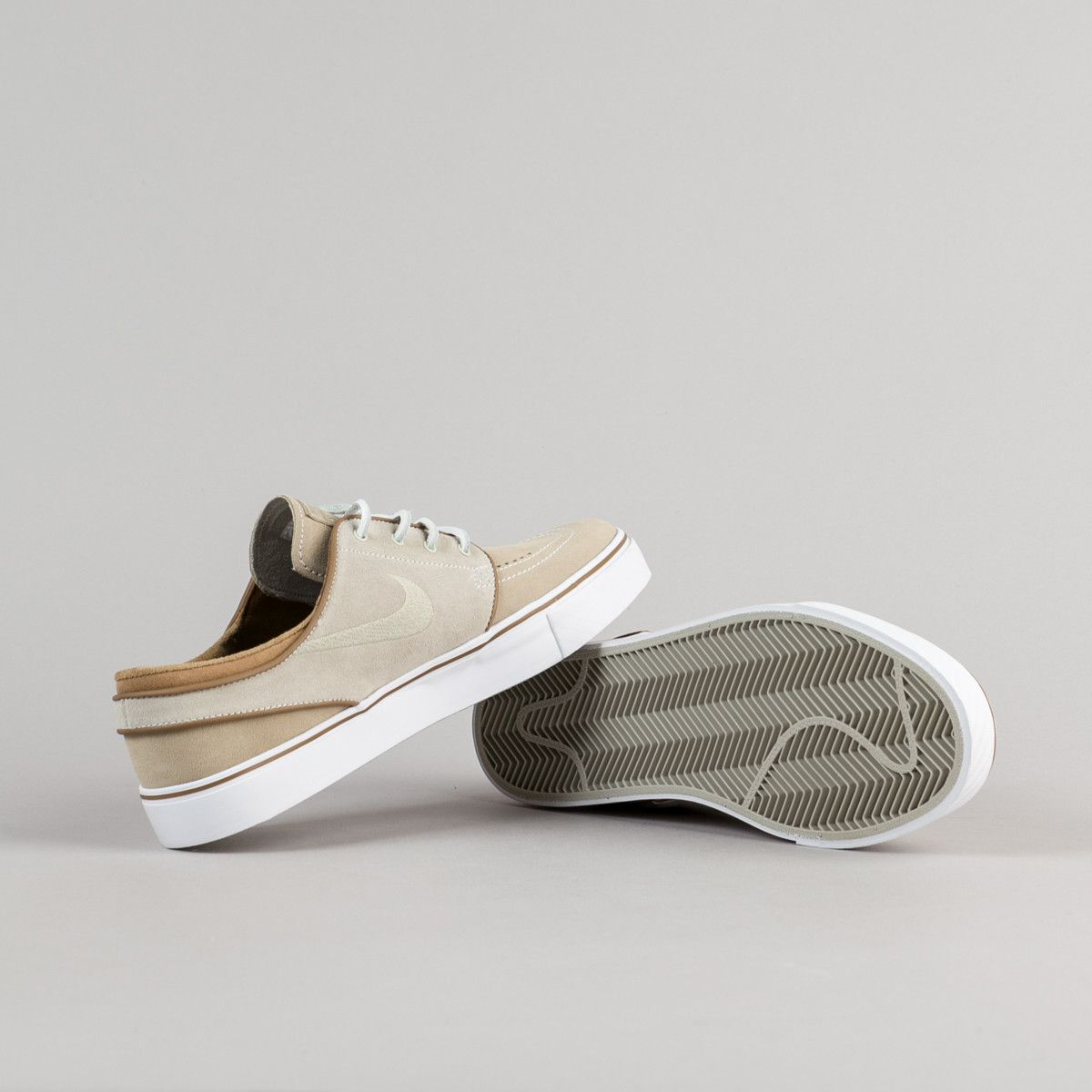 Shop the Nike SB Stefan Janoski OG Shoes in Reed and Reed and Stone - Rocky  Tan at Flatspot, premium skateboard store since