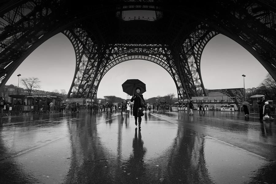 Ill get a shot like this too when we go paris rain photograph by andrew badenhorst