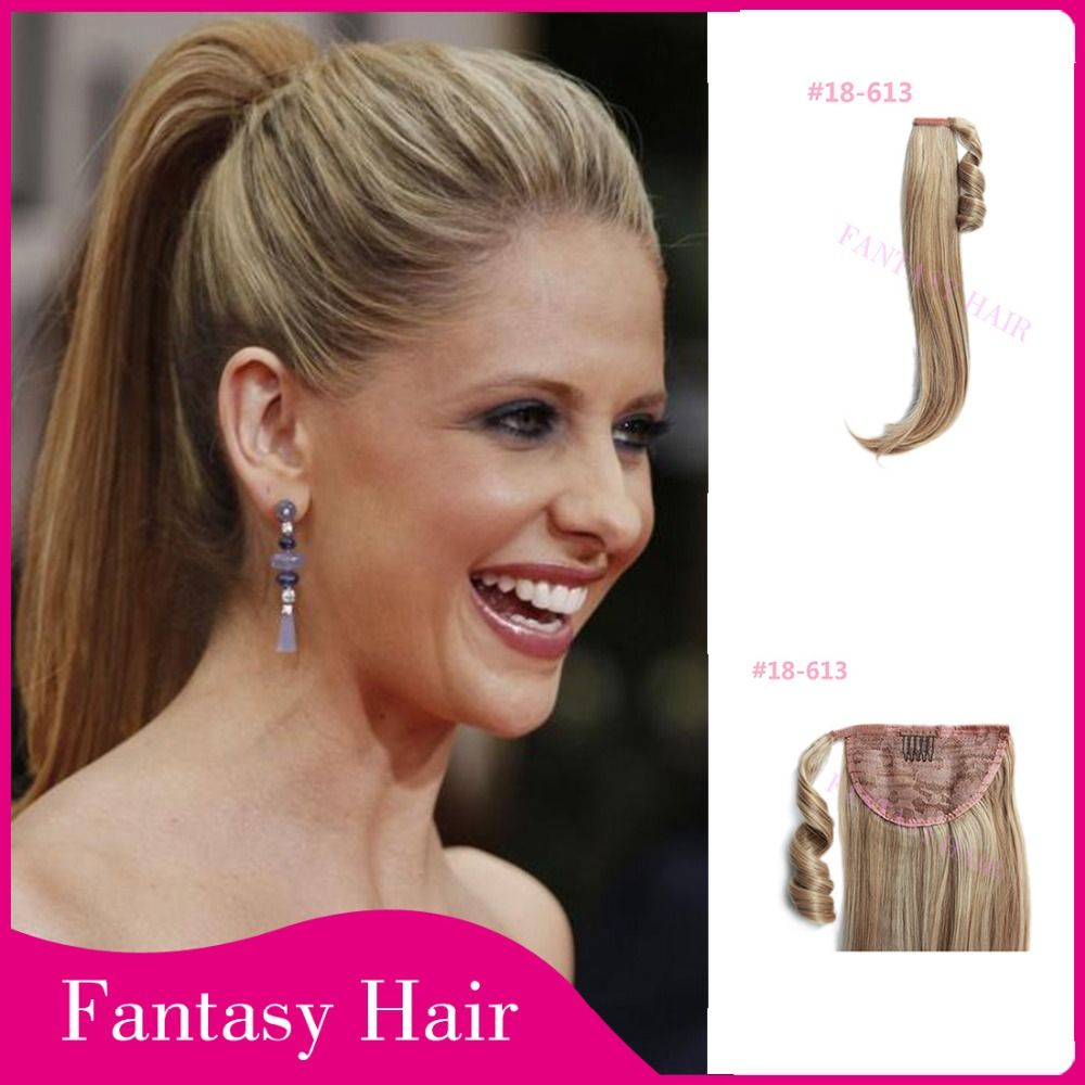 Find More Ponytails Information About Tangle Free Heat Resistant