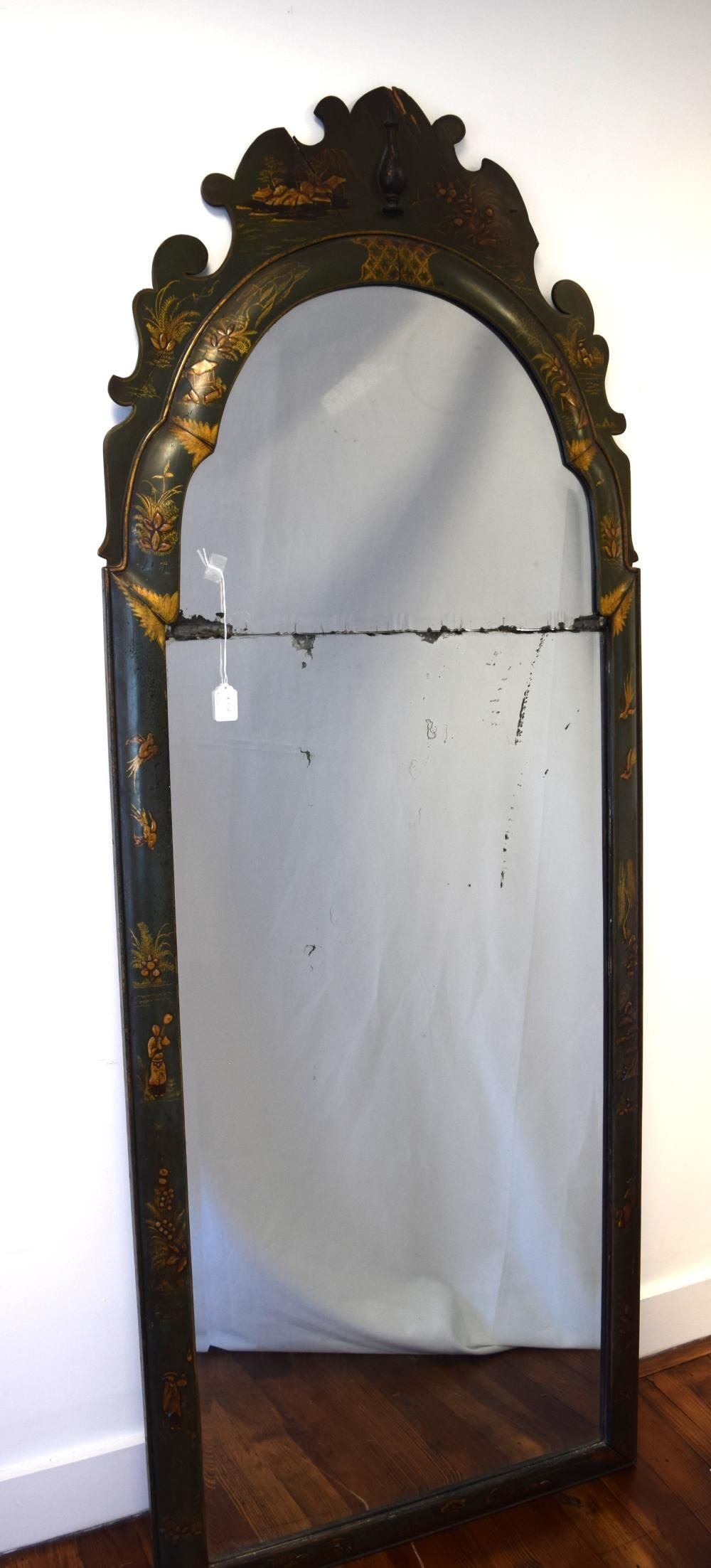 18th 19th Chinoiserie Queen Anne Mirror Mirror Queen Anne