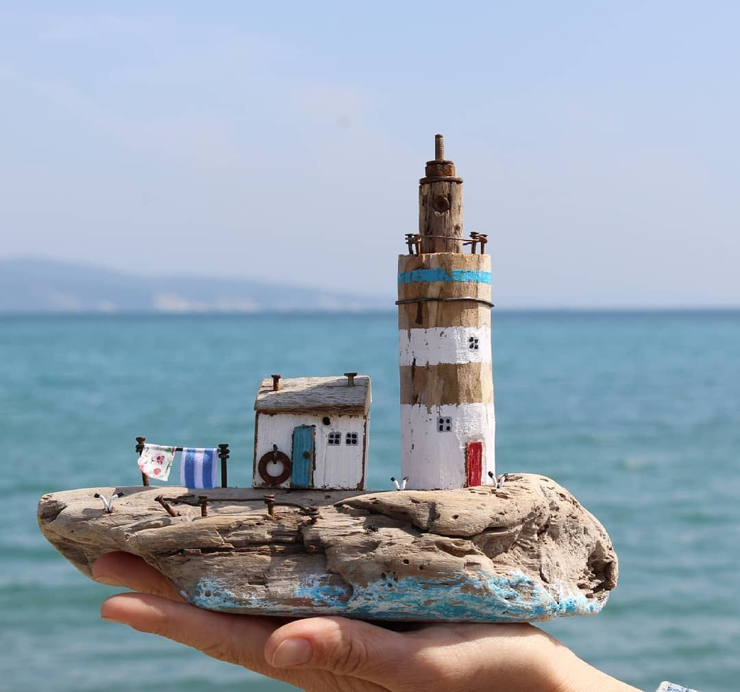 Photo of Driftwood Crafts, Wooden Crafts, Recycled Crafts, Madeira E Metal, Deco Marine, Driftwood Sculpture, Salvaged Wood, Beach Crafts, Wood Creations – Keaya