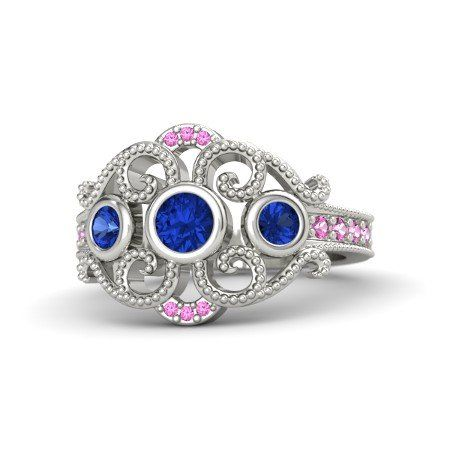 atjewels 14k White Gold On 925 Silver Blue and Pink Sapphire Disney Princess Mulan Engagement Ring Anopchand Tilokchand Jewellers http://www.amazon.in/dp/B01DNLNODM/ref=cm_sw_r_pi_dp_X3m.wb13YAET7