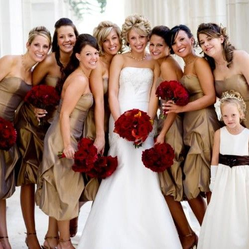 I Like The Bridesmaids Dress Colour I Think It Would