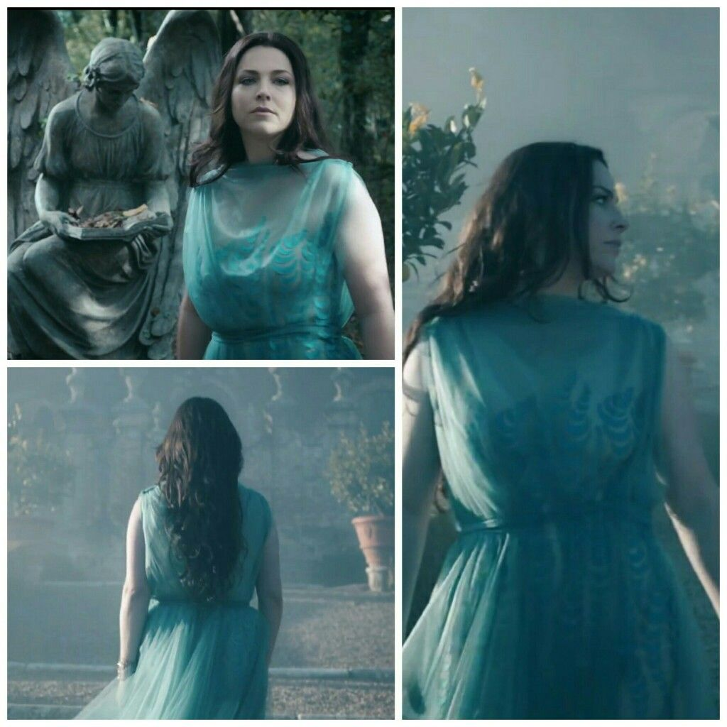 Another Awesome Turquoise Gown From Amy Lee S Speak To Me Mv Amy